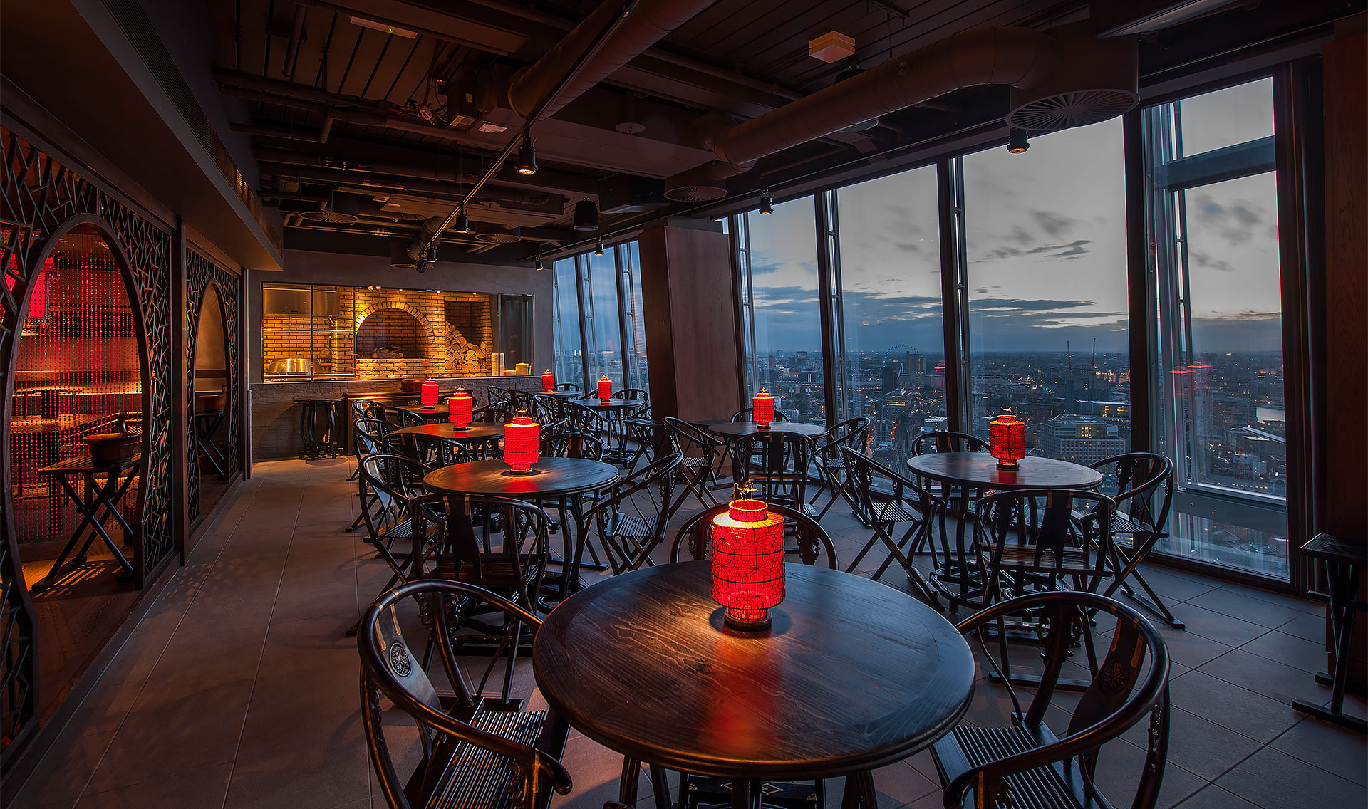 Image gallery hutong london for Restaurants at the shard
