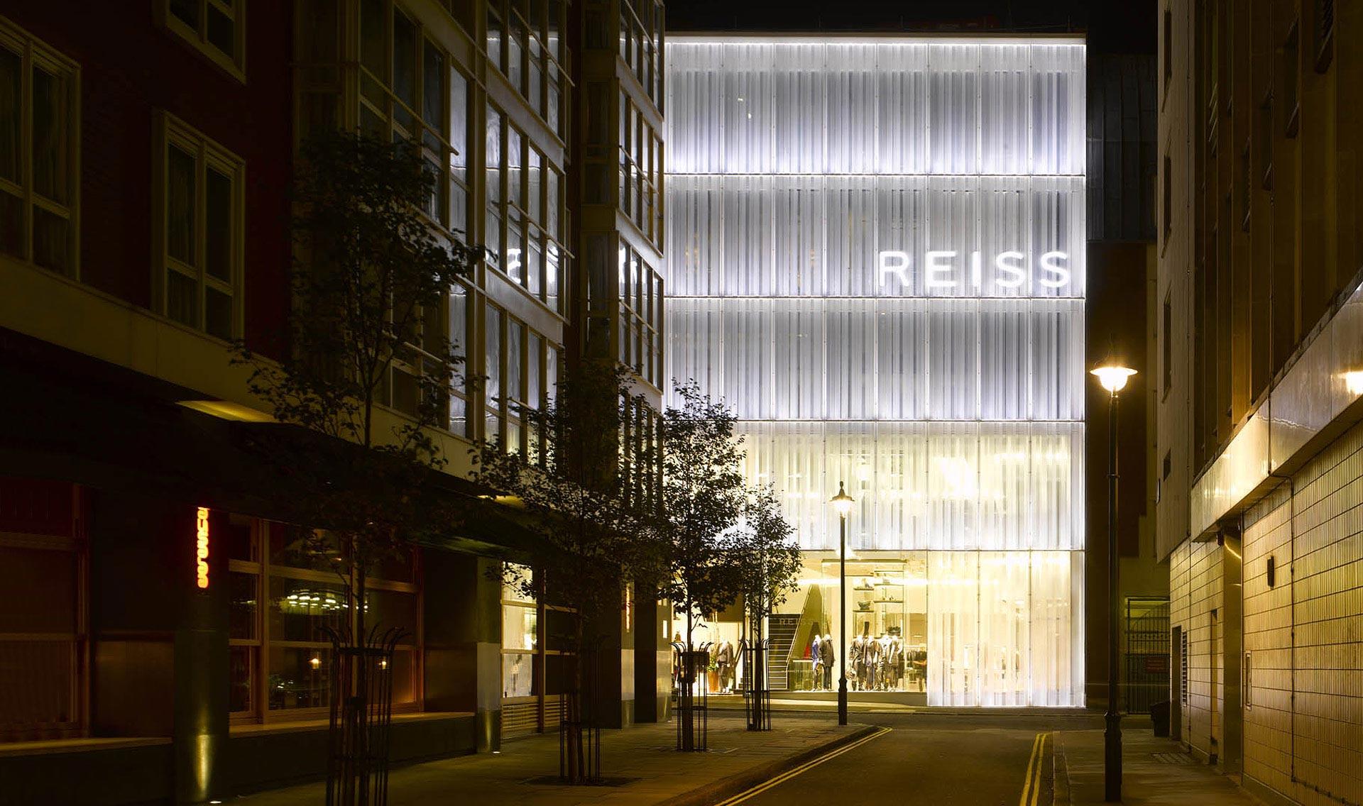 Reiss - Barrett St. London - E+M Tecnica – Engineering ... Victoria Beckham